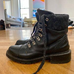 Frye Samantha Hiker Boots 6.5